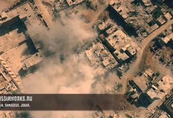 Suriye Savaşı Drone ile Kaydedildi !