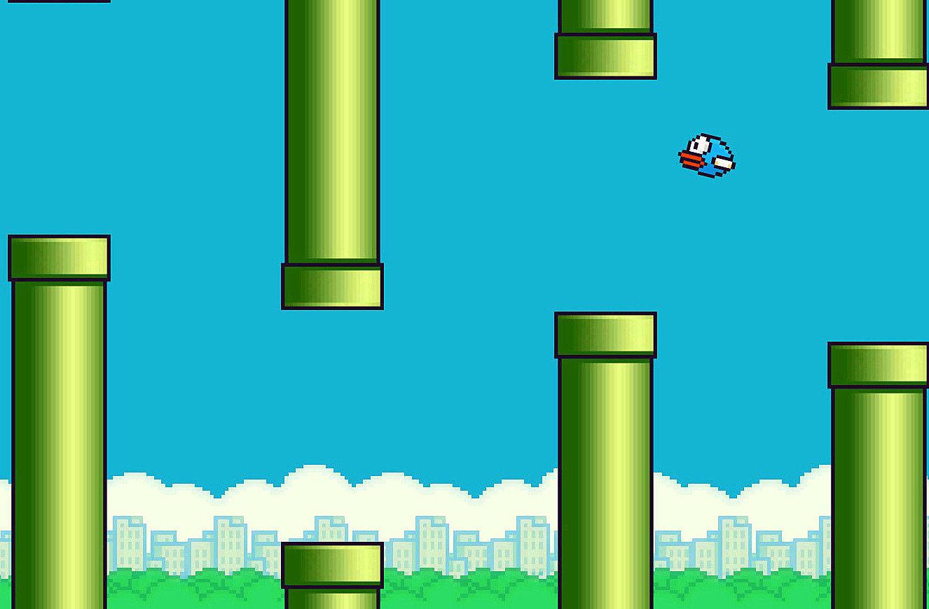 Flappy Bird oyunu oynayın Komik  oyunu oynay flappy