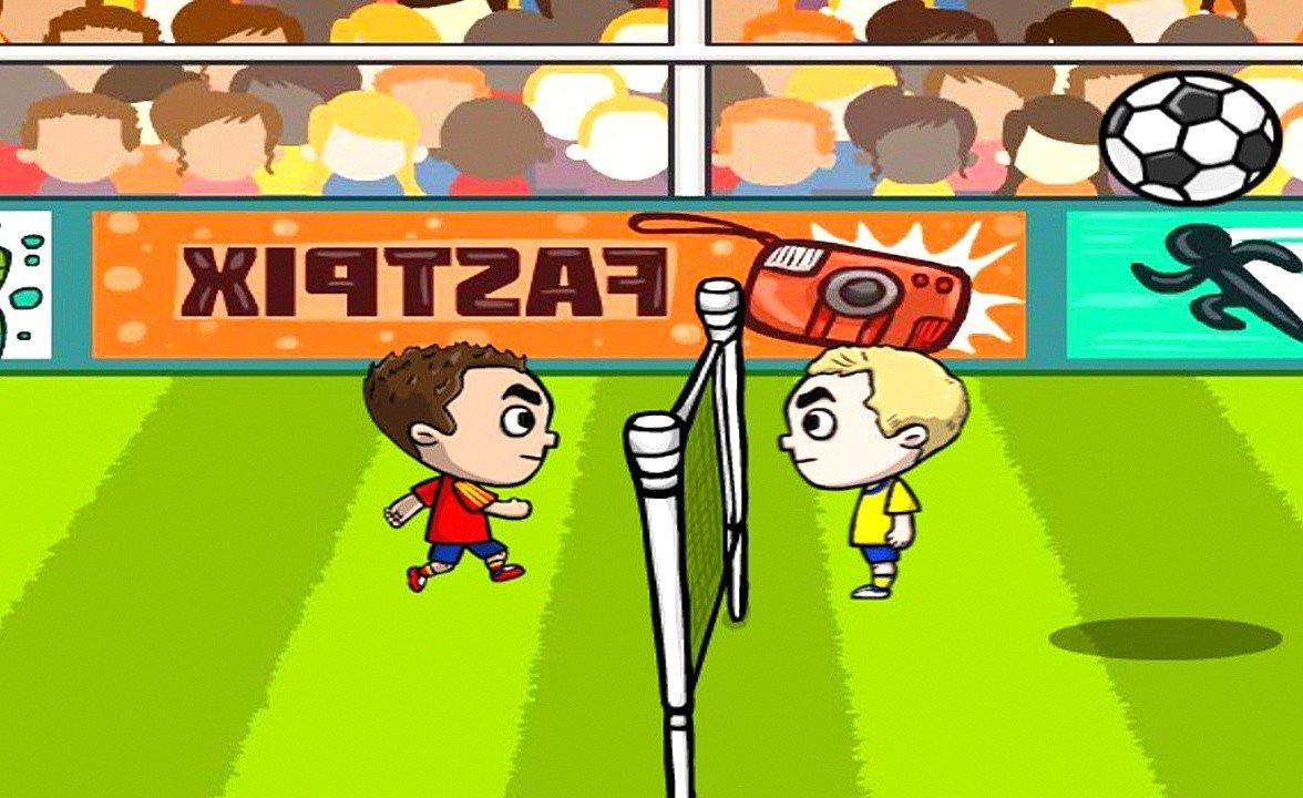 Kafa Topu oyunu ilk versiyonu! Komik  versiyonu oyunu