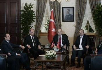 TRT Dolmabahçe görüşmesi