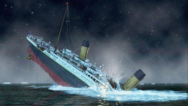 Titanic gemisinin batış anı İlginç Bilgiler  titanic gemisinin