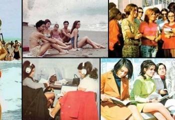 Devrim öncesi fotoğraflarla İranlı Kadınlar