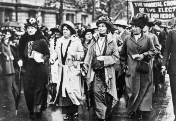 Kadın hakları için savaşan kadınlar