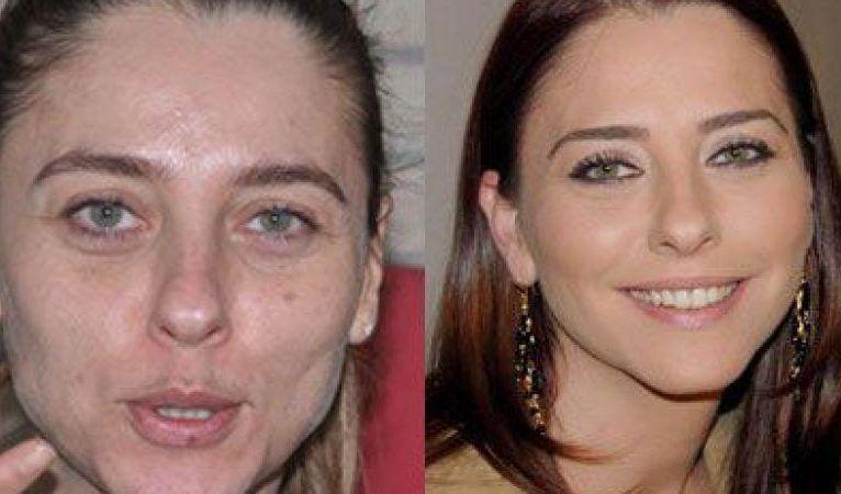 Ünlülerin makyajsız fotoğrafları Kadın Makyaj  sosyal medya paylaşımları
