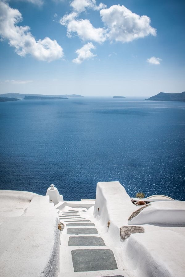 Santorini Yunanistanda gezilecek yerler