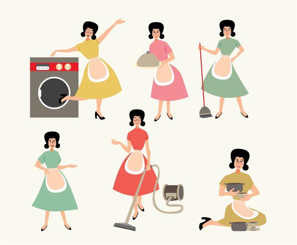Güney Kore Hükümeti'nden Evli Kadınlara Tavsiye: Ev İşleriyle Kilo Verin! Haber Sosyal Medya  seul pandemi kilo verme karantina kadın güney kore ev işi diyet