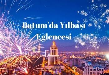 Batum'da Yılbaşı. 2019 yılına Gürcistan'da girin.