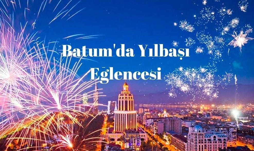 Batum'da Yılbaşı. 2019 yılına Gürcistan'da girin. Gezi  Batumda Yılbaşı 2019 yılbaşı 2019 yıl başı